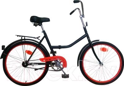 Велосипед Aist 173-344 (черный/красный)
