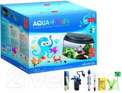 Аквариумный набор Aquael Set Aqua4Kids 113062