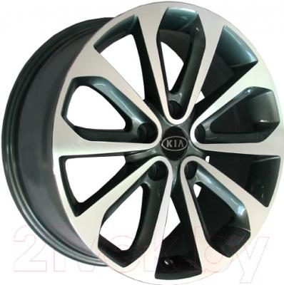 "Литой диск Replicа Kia KI026mg 16x7.0"" 5x114.3мм DIA 67.1мм ET 35мм M/GRA"