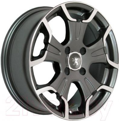 """Литой диск Replicа Peugeot PG5052mg 17x7.0"""" 5x114.3мм DIA 67.1мм ET 38мм MG"""