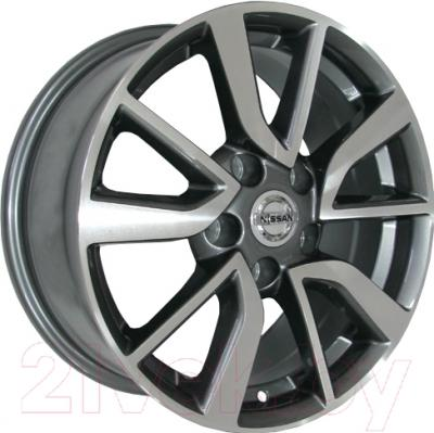 "Литой диск Replicа Nissan NS146mg 17x7.0"" 5x114.3мм DIA 66.1мм ET 40мм M/GRA"