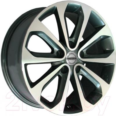 "Литой диск Replicа Nissan NS69mg 17x7.0"" 5x114.3мм DIA 66.1мм ET 40мм M/GRA"