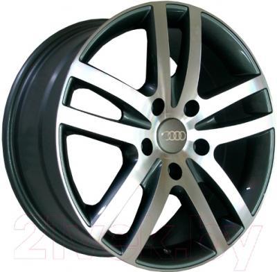 "Литой диск Replicа Audi A26mg 18x8.0"" 5x130мм DIA 71.6мм ET 57мм M/GRA"