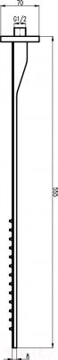 Верхний душ Slezak RAV KS0006