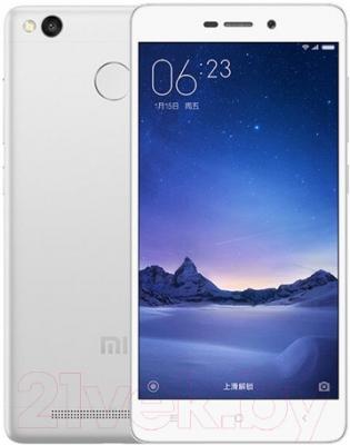 Смартфон Xiaomi Redmi 3s 32Gb (белый/серебро)