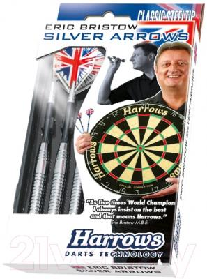 Дротики для дартса Harrows Silver Arrows 3x24gK / 5208