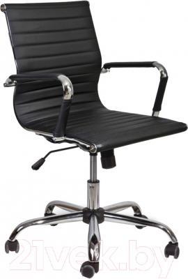 Кресло офисное Седия Emmanuel Chrome Eco (черный)