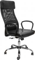 Кресло офисное Седия Orlando (черный/черный) -