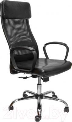 Кресло офисное Седия Orlando (черный/черный)