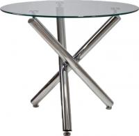 Обеденный стол Седия Nicoletta (хром/стекло) -