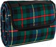 Туристический коврик Gold Cup BM003-2 (зеленая шотландка)