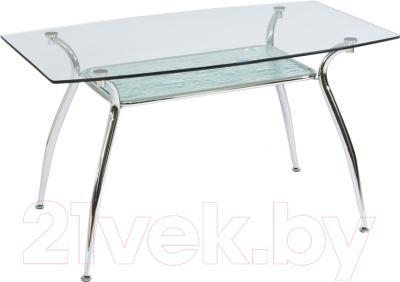 Обеденный стол Седия Patrizia (хром/стекло)