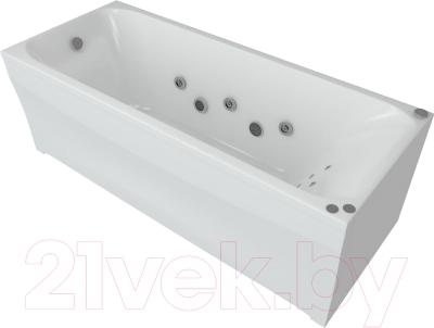 Ванна акриловая Aquatek Альфа 150x70 R