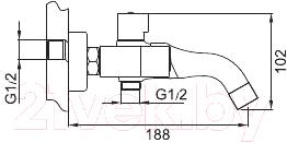 Смеситель Gappo G3249