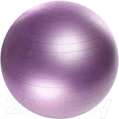 Фитбол гладкий Sabriasport 601114-1 (фиолетовый)