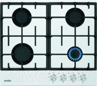 Газовая варочная панель Simfer H60H40W511