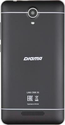 Смартфон Digma Linx C500 3G (графит)