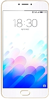 Смартфон Meizu M3 Note (16Gb, золото/белый) -