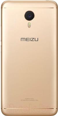 Смартфон Meizu M3 Note (16Gb, золото/белый)