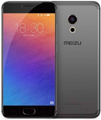 Смартфон Meizu Pro 6 (32GB, серый/черный)