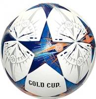 Футбольный мяч Gold Cup PU (со звездами) -