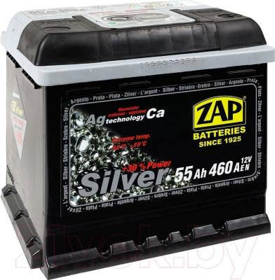 Автомобильный аккумулятор ZAP Silver 555 27 R (55 А/ч)