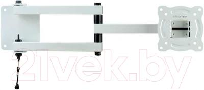 Кронштейн для телевизора Kromax AUTO-ARM-1 (белый)