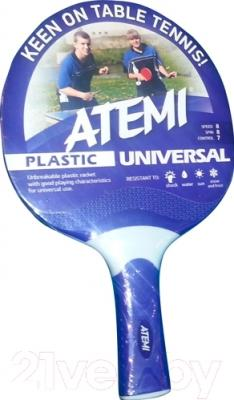 Ракетка для настольного тенниса Atemi Universal (синий)