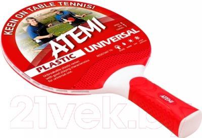 Ракетка для настольного тенниса Atemi Universal (красный)