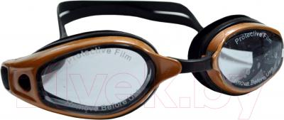 Очки для плавания Sabriasport G836A (коричневый/черный)