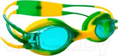 Очки для плавания Sabriasport G815 (желтый/зеленый)