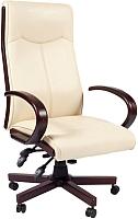 Кресло офисное Chairman 411 (экопремиум бежевый) -
