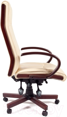 Кресло офисное Chairman 411 (экопремиум бежевый)