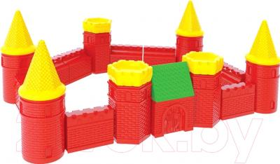 Конструктор ТехноК Набор строительных элементов Крепость 1 1592