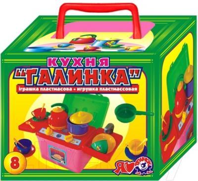 Игровой набор ТехноК Посуда Галинка 8 2377