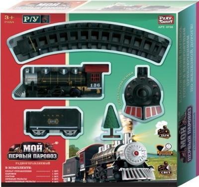Железная дорога детская Play Smart Мой первый паровоз 0736
