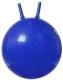 Фитбол с рожками Gold Cup JB45 (синий) -