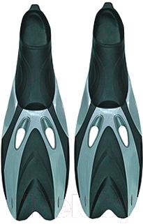 Ласты Ricky F65 (р.38-40, серый/черный)