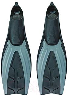 Ласты Ricky F19 (р.45-46, серый/черный)