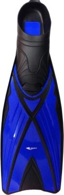 Ласты Ricky F06 (р.42-43, синий/черный)