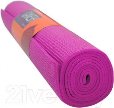 Коврик для йоги Sabriasport 600865 (розовый)