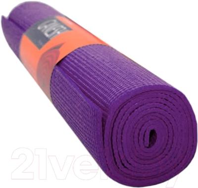 Коврик для йоги Sabriasport 600865 (фиолетовый)