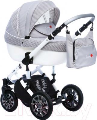 Детская универсальная коляска Dada Paradiso Group Rocky Limited Edition 3в1 (серый)