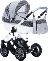 Детская универсальная коляска Dada Paradiso Group Rocky Limited Edition 3в1 (темно-синий) -
