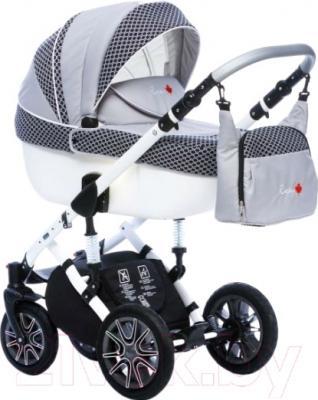 Детская универсальная коляска Dada Paradiso Group Rocky Limited Edition 3в1 (темно-синий)