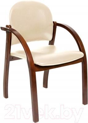 Кресло офисное Chairman 659 (Terra 101, беж матовый/темн.орех)