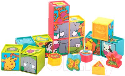 Развивающая игрушка RedBox Кубики пазлы 23097-1