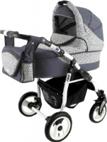 Детская универсальная коляска Adbor Zipp 3в1 (Z8) -