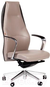 Кресло офисное Chairman Basic (светло-серый/темно-серый)