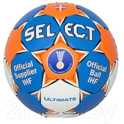 Гандбольный мяч Select Match Ultimate IHF (размер 3)